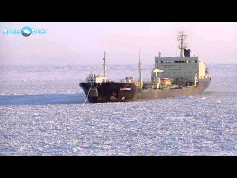 Merchant Navy Jobs, Working  Under Ice  Freezing Cold Conditions