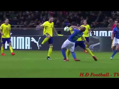 Italy vs Sweden 0 - 0 (agg 0-1)Extended Highlights HD 13/11/2017