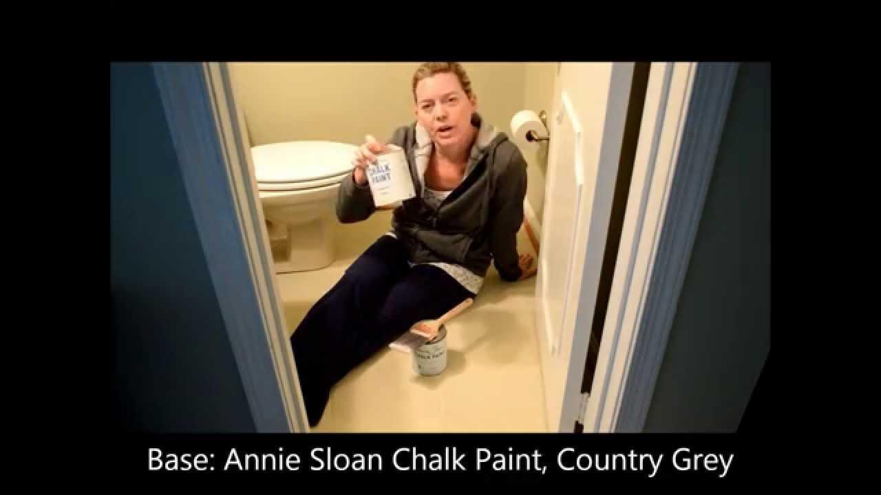 Painting Linoleum Or Vinyl Floors With Annie Sloan Chalk