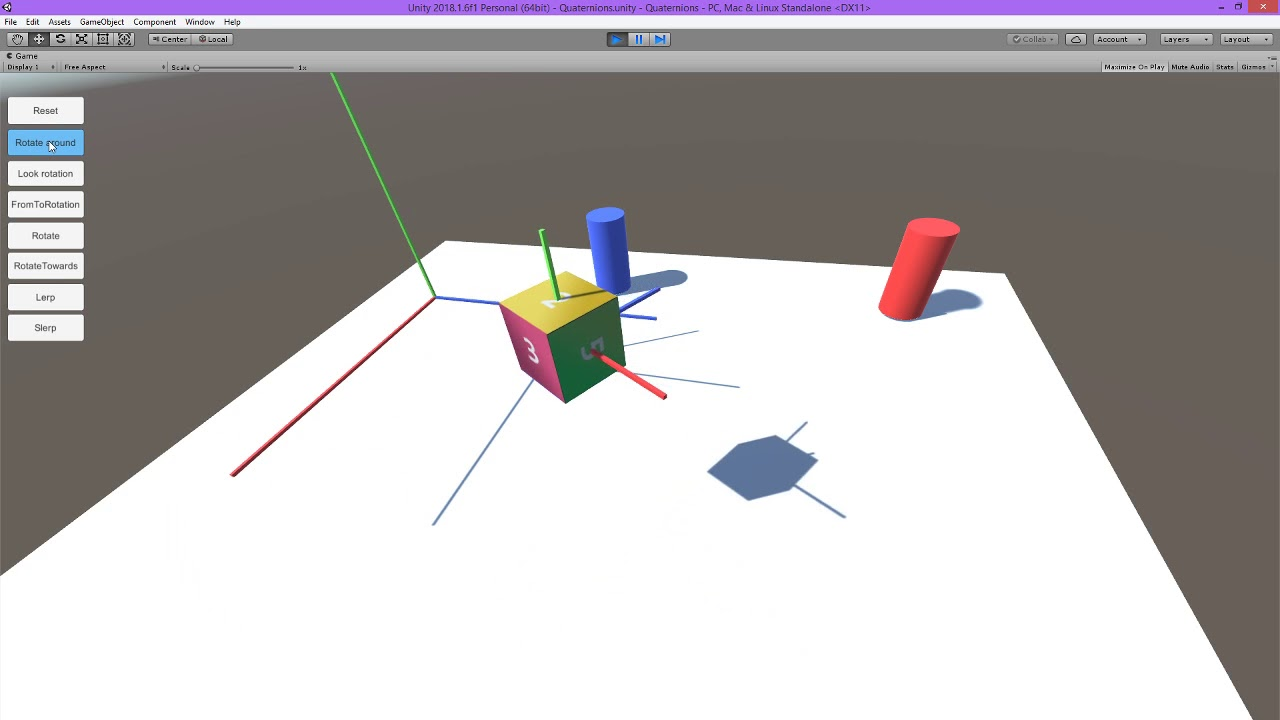 Quaternions #part2 + rotations – kakaboc