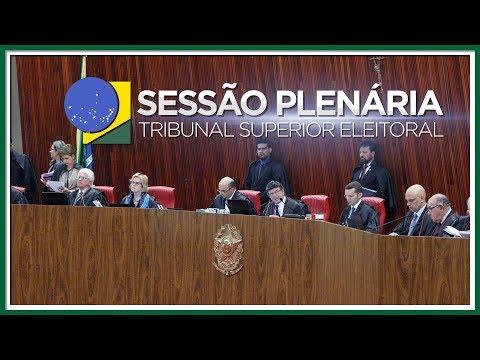Sessão Plenária do dia 12 de junho de 2018
