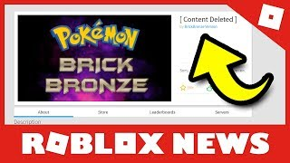 Pokemon Brick Bronze DELETED | Atlantis Event #RobloxNews