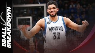 Karl anthony towns: the best 3 name player since kareem