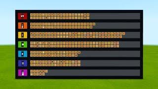 Ranking Every Construction Block in Minecraft Tier List