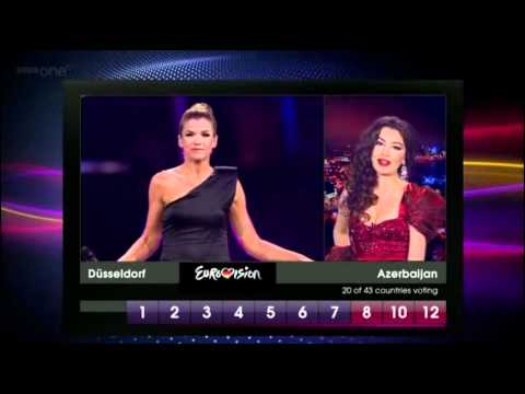 Eurovision 2011 Full Voting BBC