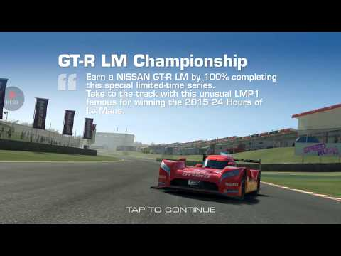 Real Racing 3: Limited Time Series Ft Nissan GT-R LM Nismo: Tier 1