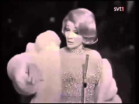 Marlene Dietrich - The Laziest Gal in Town (Live in Stockholm)