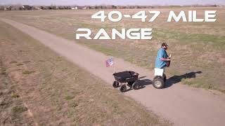 ECO GLIDE PERSONAL TRANSPORTER WITH TRAILER