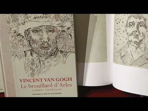 Arts: Experts squabble over whether 'lost' Van Gogh notebook is real