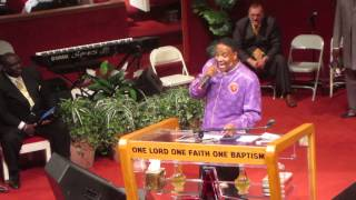 Bishop Lambert W. Gates Sr. Pt 3 - Apostolic Pentecostal Church of Morgan Park 90th Convention