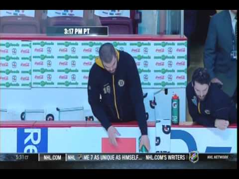 Image result for nathan horton pouring water on ice