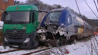 ACCIDENT DE TRAIN ! (Train Simulator 2017)