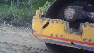 г  Луза  Ремонт дороги у АТП и стройка на ул Рабочая  14 09 2018