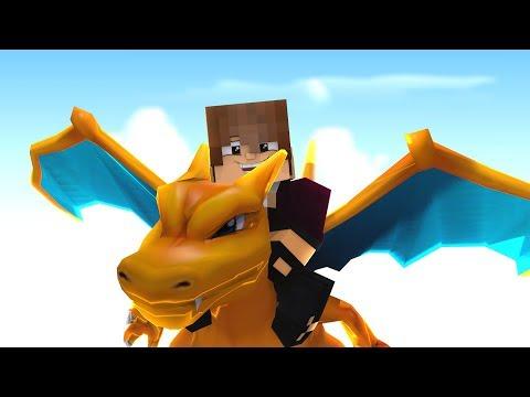 Minecraft Pixelmon Dark, Charizard! A Evolução! Pokemon 10