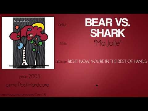 Bear vs. Shark - Ma Jolie (synced lyrics)