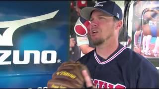 MLB players: My first glove - Mizuno Baseball