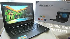 "iView Megatron II 14.1"" FHD 2-in-1 Windows 10 Laptop Unboxing & 1st Impressions!"