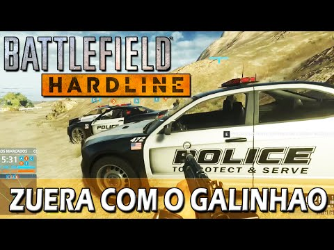 Battlefield Hardline Multiplayer (PC) - #9: Tirolesa e somos Polícia xD