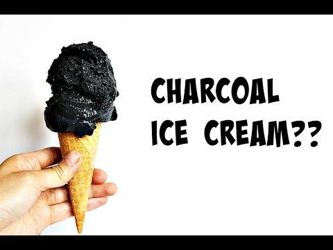 Charcoal Ice Cream Recipe | Vegan