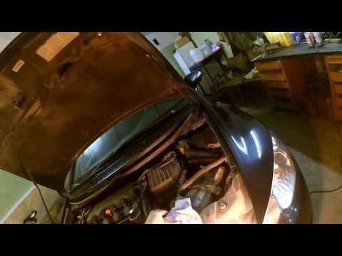Замена антифриза в Honda Civic 4d