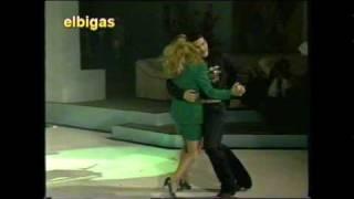 Mi Banda El Mexicano -No Bailes De Caballito- El Escandalo En el progama En Vivo - 1993