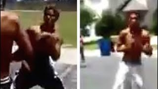 NLE Choppa Vs Quando Rondo Altercation In Huston Texas (somebody gets hurt)