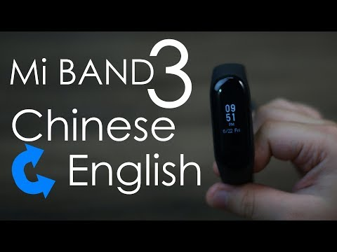 How to change Mi Band 3 language from...