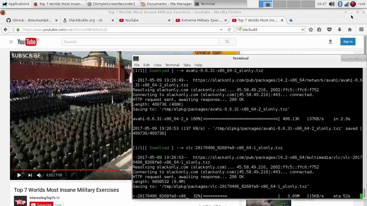 slpkg (Slackware Management Tool's)