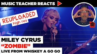 """Music Teacher Reacts to Miley Cyrus """"Zombie"""" 
