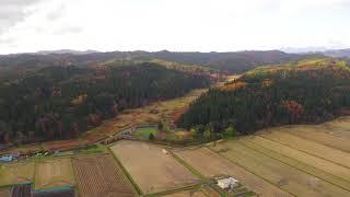 秋田県北秋田市鷹巣の風景です。 A landscape, Akita Prefecture Kitaak...