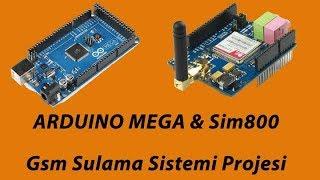 Gsm Sulama Sistemi Bol Özellikli Arduino sim800 Video