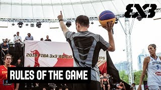 The Official Rules of the Game - FIBA 3x3