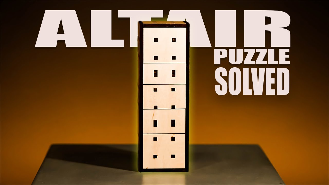 Solving The ALTAIR Puzzle // Reviewing Affordable Puzzles!!