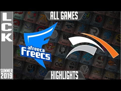 AF vs HLE Highlights ALL GAMES | LCK Summer 2019 Week 10 Day 2 | Afreeca Freecs vs Hanwha Life