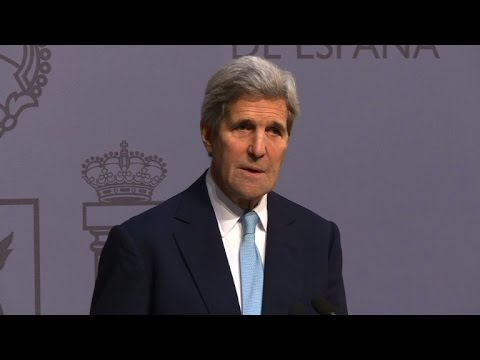 Kerry calls for end to Israeli-Palestinian violence
