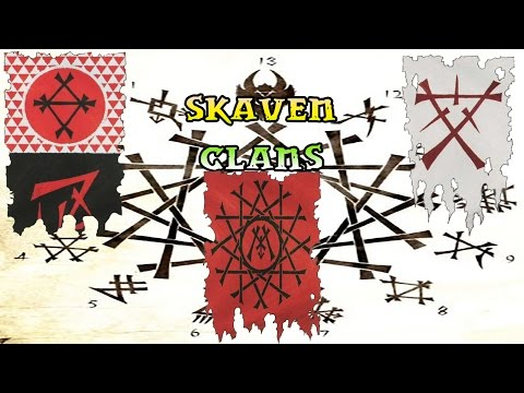Warhammer Lore, Skaven Clans, The Council and the TWW2 Logo!