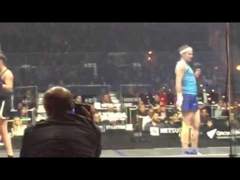 Amanda Sobhy vs Sarah Jane Perry NetSuite Open Squash SF
