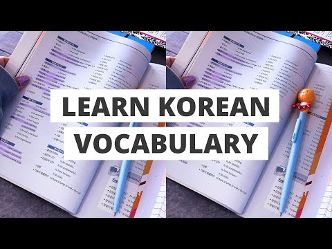 how i study korean vocabulary || my step-by-step method for learning words FASTER