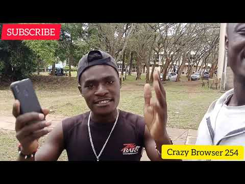 The Cutest Man in Eastern Africa ❤️   Crazy Browser 254 ft Ngipo TV