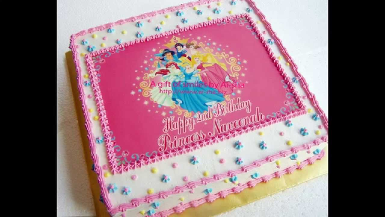 Disney Princess Party Cake Ideas Youtube