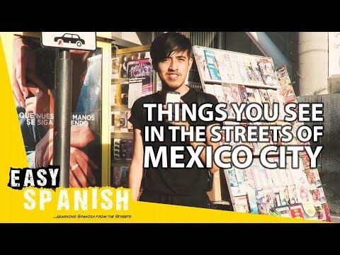 Tiếng Tây Ban Nha bài 10: Những thứ bạn thấy ở Mexico