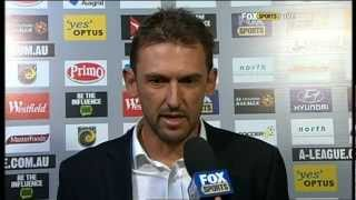 CCM Vs Western Sydney Wanderers: Post Game Interviews and Coverage (2/3/13)