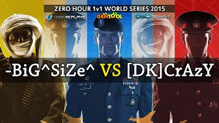 1v1 Zero Hour World Series 2015 Finals - SiZe vs Crazy