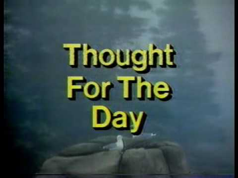 Thought For The Day & CFCN Sign-off (1985)