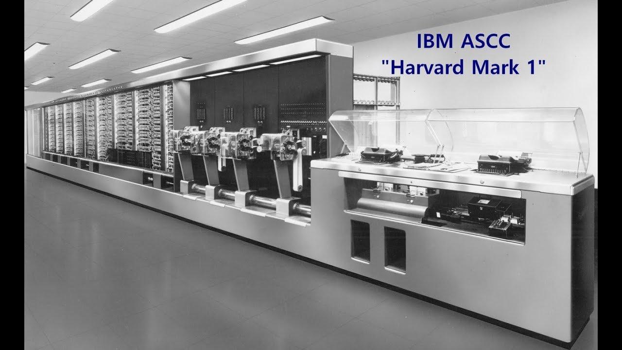 1944 Computer History: IBM ASCC