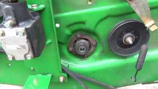 Deere 62D mower deck bearing housing blew apart on me