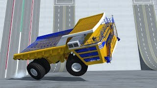 BeamNG Drive Insane Wall Riding With Trucks & Cars - Insanegaz