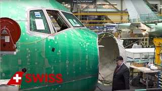 Insights into the Boeing 777-300ER construction | SWISS thumbnail