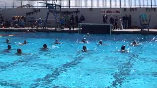 Sams first water polo game