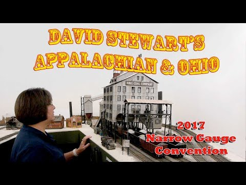 Huge 3000 Sq Ft O Scale Model Railroad – David Stewart's Appalachian and Ohio